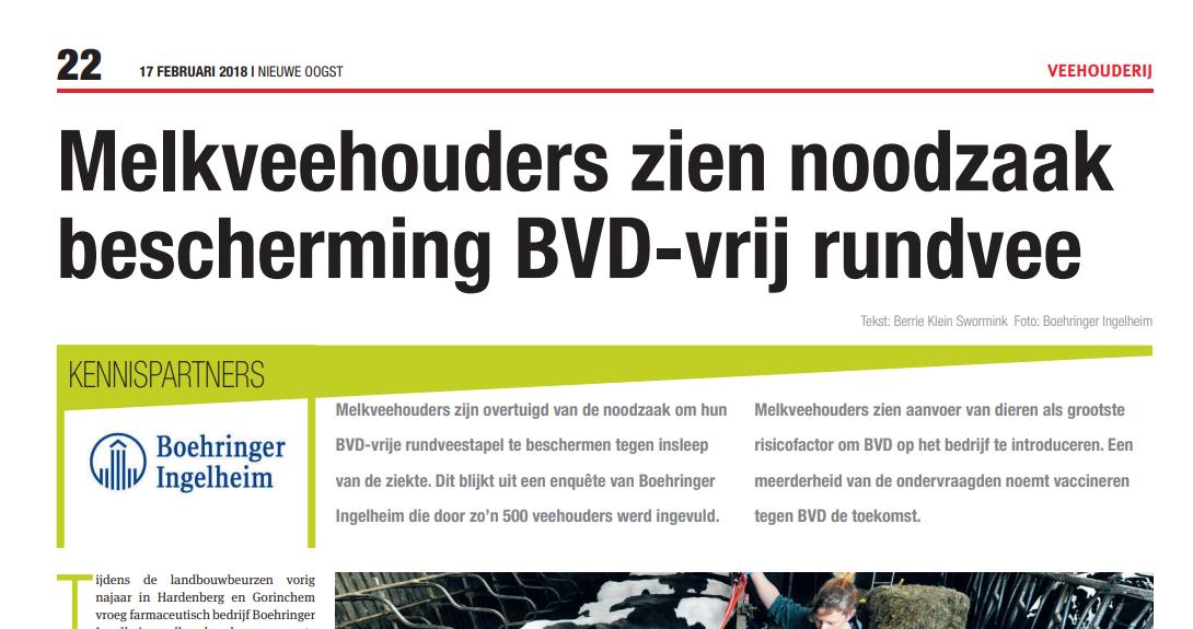 Melkveehouders zien noodzaak bescherming BVD-vrij rundvee